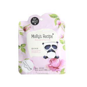 """DEAR MOLLY Отшелушивающая маска для ног с экстрактом розы """"Рецепты Молли"""""""