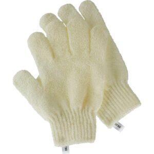 DECO. Перчатки для душа DECO. отшелушивающие (белые)