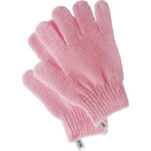 DECO. Перчатки для душа DECO. отшелушивающие (розовые)