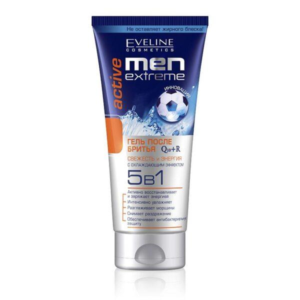 EVELINE Гель после бритья ACTIVE 'men extreme' 5 в 1 (с охлаждающим эффектом)