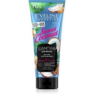 EVELINE Шампунь для волос SWEET COCONUT 'food for hair' питание и регенерация