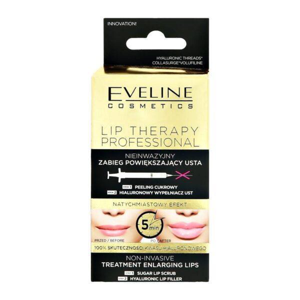 EVELINE Скраб для губ + филлер EVELINE скраб для губ + филлер для увеличения объема 7 мл + 12 мл