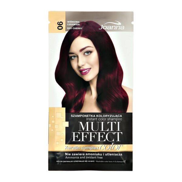 JOANNA Оттеночный шампунь для волос MULTI EFFECT COLOR