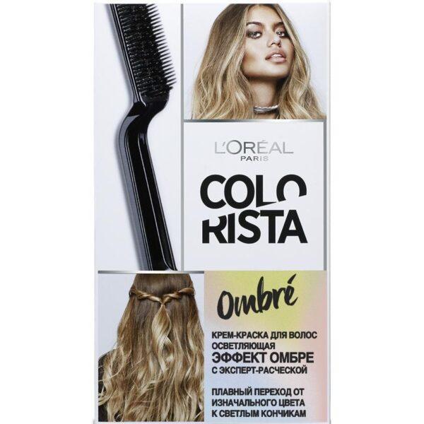 """L'OREAL PARIS Крем-краска для волос осветляющая Эффект Омбре """"Colorista Ombre"""""""