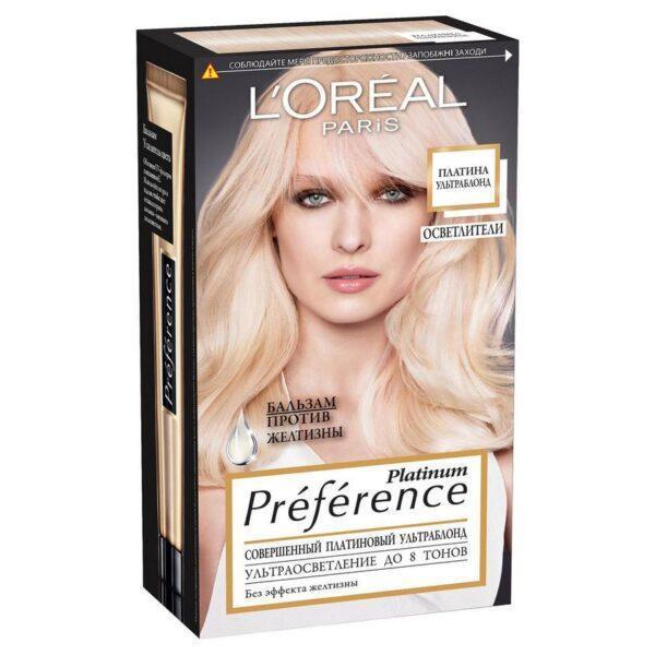 "L'ORÉAL PARIS Стойкая краска для волос ""Preference"