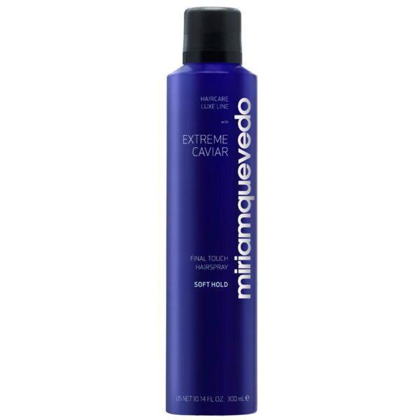 MIRIAM QUEVEDO Лак для волос легкой фиксации с экстрактом черной икры Extreme Caviar Final Touch Hairspray – Soft Hold