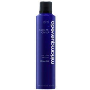 MIRIAM QUEVEDO Лак для волос средней фиксации с экстрактом черной икры Extreme Caviar Final Touch Hairspray – Medium Hold