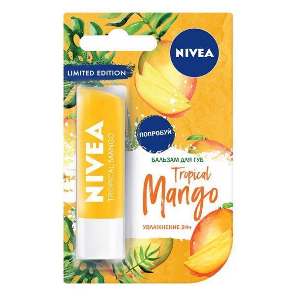 """NIVEA Бальзам для губ """"Тропический манго"""""""
