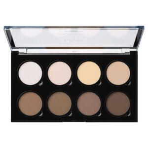 NYX Professional Makeup Палетка для контурирования. HIGHLIGHT & CONTOUR PRO PALETTE