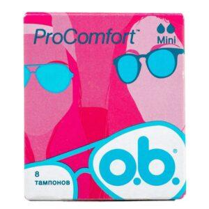 O.B. Тампоны ProComfort Mini