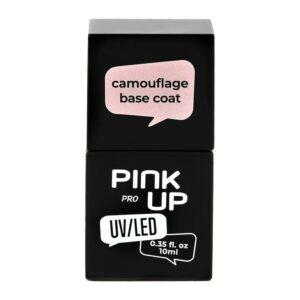 PINK UP Камуфлирующая база для ногтей UV/LED PRO
