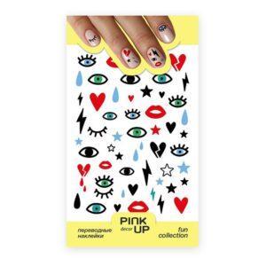 PINK UP Наклейки для ногтей FUN