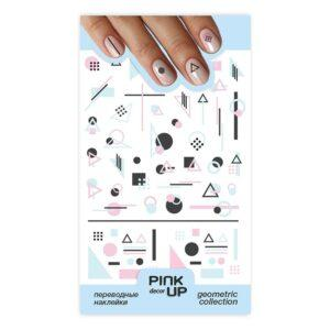 PINK UP Наклейки для ногтей GEOMETRY