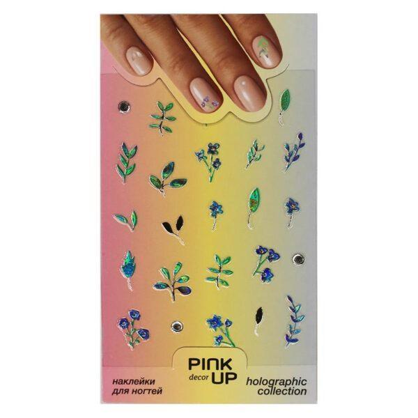 PINK UP Наклейки для ногтей HOLOGRAPHY