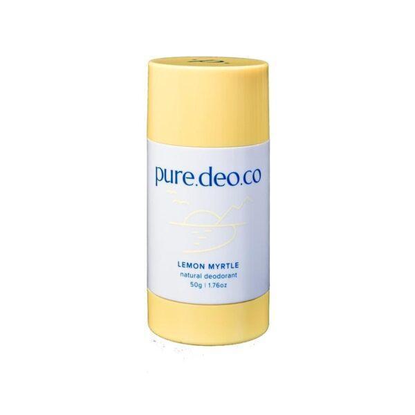 PURE DEO CO Дезодорант-стик без солей алюминия с лимонным миртом