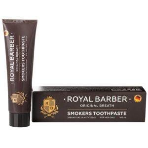 ROYAL BARBER Зубная паста АНТИТАБАК