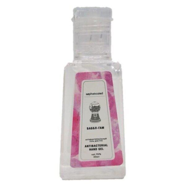 """SOPHISTICATED Косметический антибактериальный гель для рук c ароматом """"бубль-гум"""" Antibacterial gel """"Bubble Gum"""""""