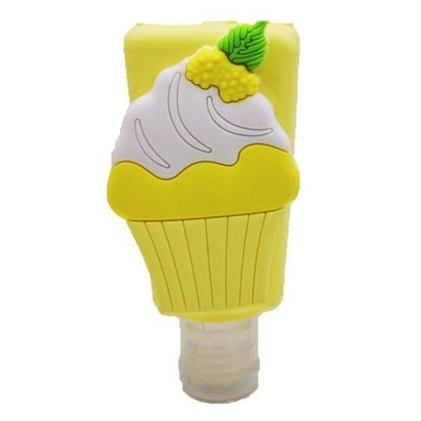 """SOPHISTICATED Косметический антибактериальный гель для рук Cupcake c ароматом """"лимон"""" Antibacterial gel Cupcake """"Lemon"""""""