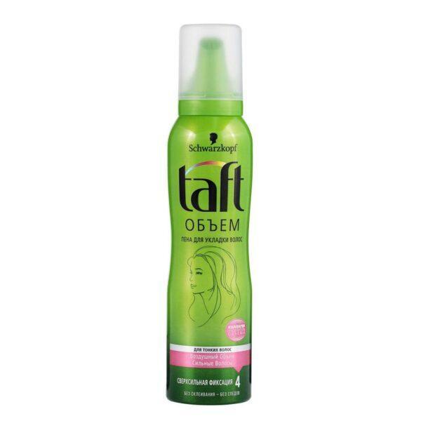 """TAFT Пена для волос """"Сила объема"""" для тонких волос сверхсильной фиксации"""