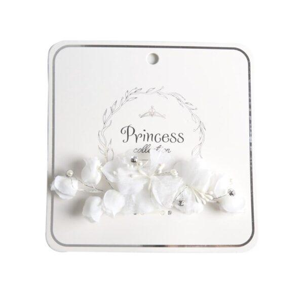 TWINKLE PRINCESS COLLECTION Заколка для волос Flowers White