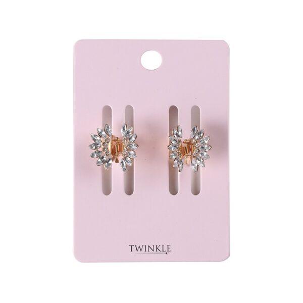 TWINKLE Заколки для волос 2 шт. Stones