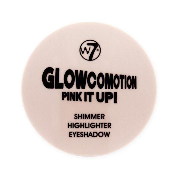 W7 Хайлайтер для лица и тени для век Glowcomotion