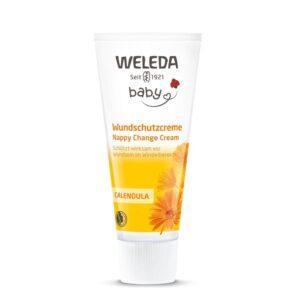 WELEDA Крем для младенцев с календулой для защиты кожи в области пеленания