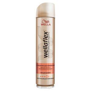 """WELLA Wellaflex Лак для укладки волос """"C увлажняющим комплексом"""" экстрасильной фиксации"""