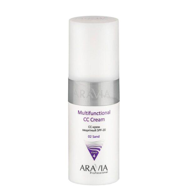 ARAVIA CC-Крем Multifunctional CC Cream sand 02 Защитный SPF-20