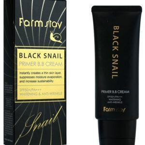 ББ крем с муцином черной улитки FarmStay Black Snail Primer B.B Cream SPF50+/PA+++