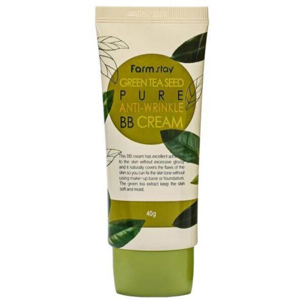 ББ крем с семенами зеленого чая FarmStay Green Tеa Seed Pure Anti-Wrinkle BB Cream