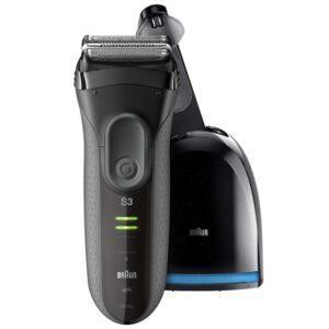 бритва электрическая BRAUN 3050cc Grey сеть/аккум. самоочист.