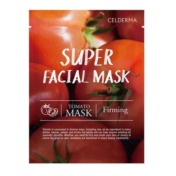 CELDERMA Маска для лица CELDERMA с экстрактом томата (для упругости кожи)