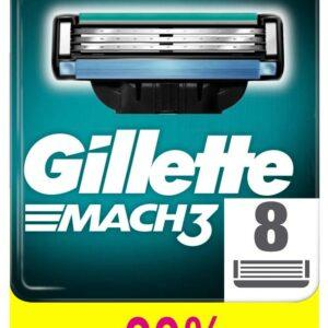 Cменные кассеты для бритья Gillette Mach 3