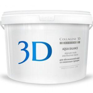 Collagene 3D Альгинатная маска для лица и тела с гиалуроновой кислотой Aqua Balance
