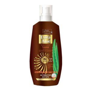 cпрей Extra Aloe солнцезащ. аэрозоль SPF6 150мл