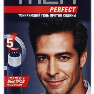 Гель для волос тонирующий мужской Schwarzkopf Men perfect Натуральный черный тон 90