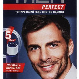 Гель для волос тонирующий мужской Schwarzkopf Men perfect Натуральный темно-каштановый тон 70