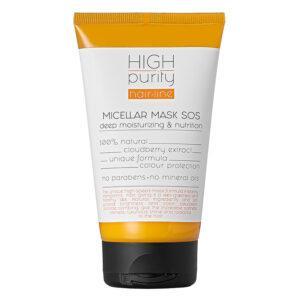 HIGH PURITY Мицеллярная SOS маска для волос Глубокое увлажнение и питание
