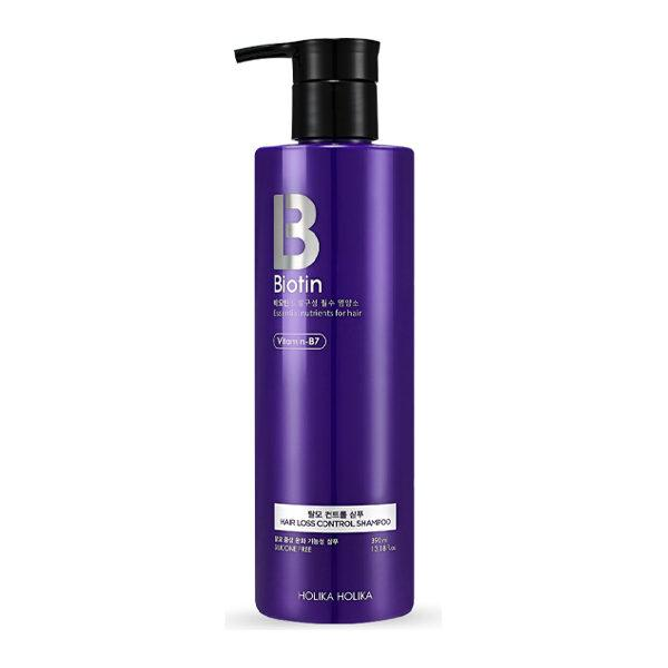 Holika Holika Шампунь против перхоти и выпадения волос Biotin Hair Loss Control Shampoo