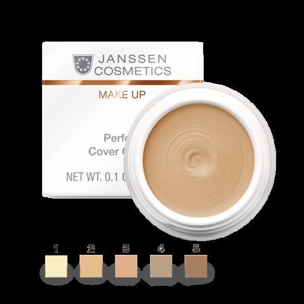 JANSSEN COSMETICS Крем-Камуфляж Perfect Cover Cream  Тон 3 Тональный