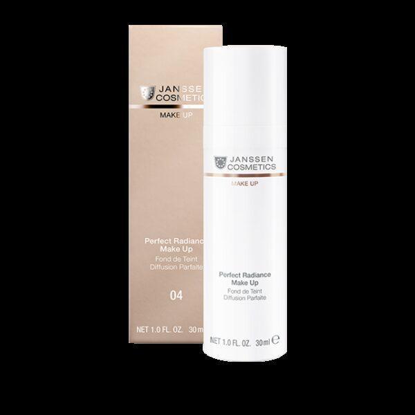 JANSSEN COSMETICS Крем Perfect Radiance Make-up с Spf-15 Стойкий Тональный Самый Темный