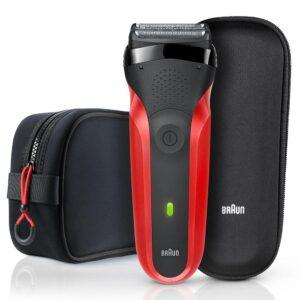 Электробритва Braun 300TS Red+чехол