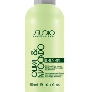 Kapous Бальзам Olive and Avocado Увлажняющий для Волос с Маслами Авокадо и Оливы