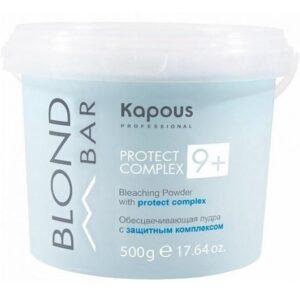Kapous Пудра Blond Bar Обесцвечивающая с Защитным Комплексом 9+
