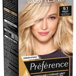 Краска для волос L'Oreal Paris Preference викинг тон 9.1