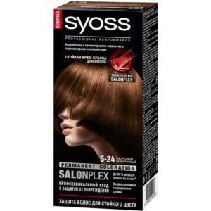 Краска для волос Syoss Color 5-24 морозный каштановый