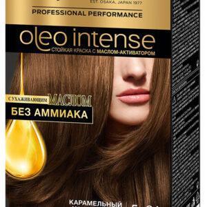 Краска для волос Syoss Oleo Intense Карамельный каштановый тон 5-86