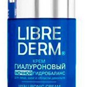 Крем для лица ночной Librederm гиалуроновый гидробаланс
