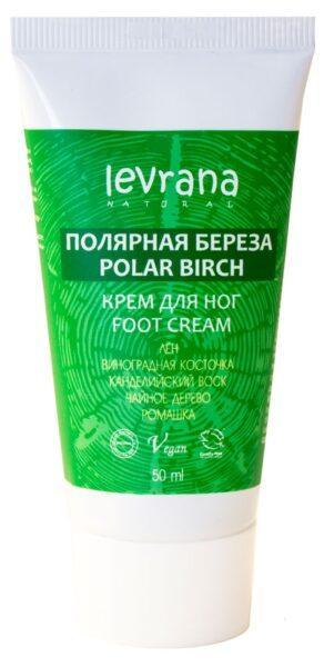 Крем для ног Levrana Полярная береза